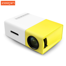 Zeepin YG-300 Portable Mini LCD Projector HDMI USB TF Card Home Theater YG 300 Media Player for Business & Family Gaming Movie
