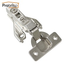 Probrico 1 PCS Soft Close Insert Face Frame Cabinet Hinge CHRH04HC Kitchen Furniture Concealed Cupboard Door Hinge(China)