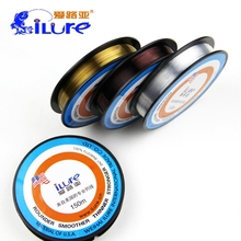 Super Stronger 150m Fluorocarbon Fishing Line Carp Wire Winter 3 colors Ice Multifilament Leader Lines Linha Fly Fishing Tackle(China)