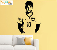 Neymar Da Silva Barcelona Brazil Football Player Decal Wall Art Sticker Picture