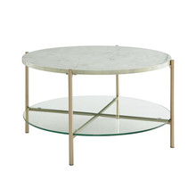 White Coffee Table PromotionShop For Promotional White Coffee Table - White coffee table with gold legs