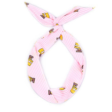 Fashion Female Headbands Lovely Comfortable Rabbit Ears Cartoon Characters Pattern Hairbands Multicolor Wash Face Iron Wire Hair
