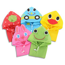Cute Kids Rain Coat children Raincoat Rainwear/Rainsuit,Kids Waterproof Animal Raincoat 1pcs