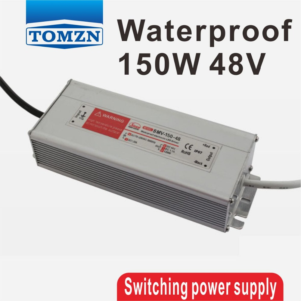150W 48V 3.1A Waterproof outdoor Single Output Switching power supply for LED lAC TO DC<br>