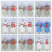 13 Matt Carpenter 16 Kolten Wong 30 Orlando Cepeda 45 Bob Gibson #50 Adam Wainwright Jerseys