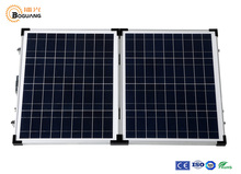 Solarparts 1x 40W Glass frame Polycrystallie Solar Module cell kit system panel high efficiency18V Camping Vacation outdoor use