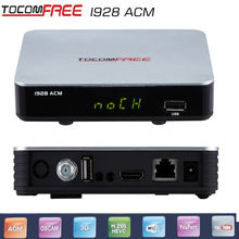 Tocomfree i928ACM digital tv converter box with free iks USB wifi Full hd 1080p Newcam cccam to south America