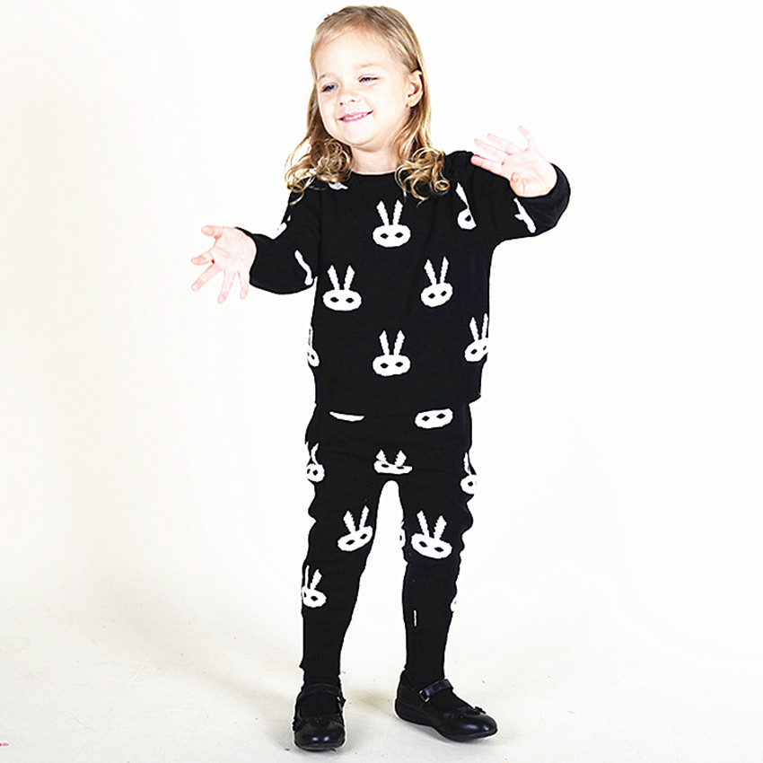 Girls Clothing Sets Infant Cute Bunny Sweater Suits Spring Kids Outwear Baby Clothes Sets Cotton Toddler Girls Clothing Sets<br><br>Aliexpress