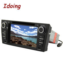 Idoing 2Din Steering Wheel For BMW E90 Car DVD Player 1024*600HD Screen Multimedia Video Android5.1 GPS Navigation Car PC Stereo