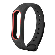 Buy XIAOMI MI Band 2 New Fashion Original Silicon Wrist Strap WristBand Bracelet Replacement drop 0809 for $1.25 in AliExpress store