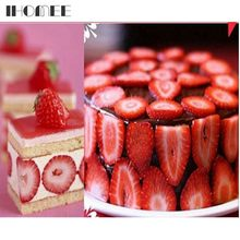 strawberry slicer home kitchen tools red plastic fruit carving tools salad cutter berry strawberry cake decoration cutter f23d15 - Strawberry Kitchen Decoration