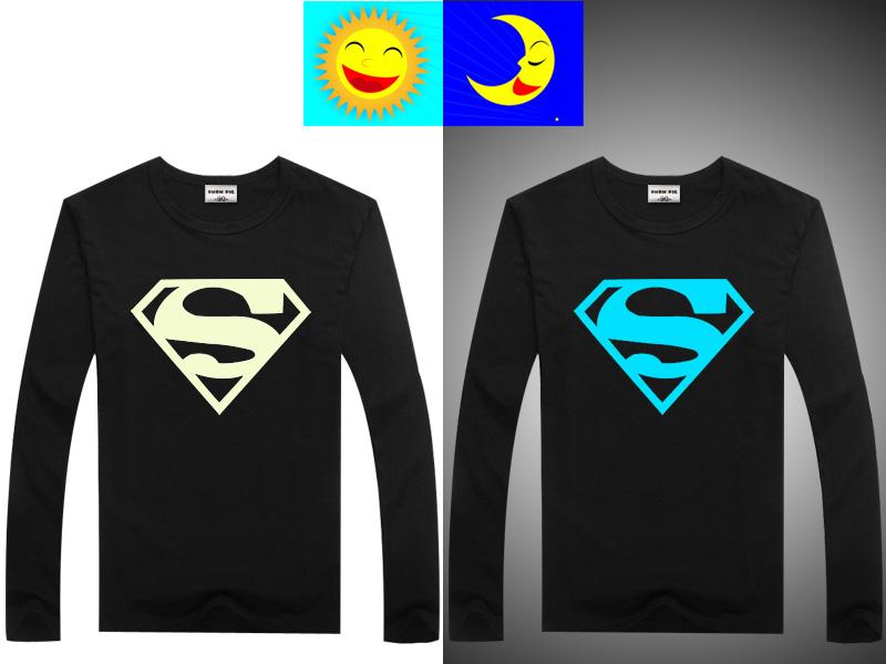 Luminous Long Sleeve T-Shirt For Boys T Shirt Batman Christmas Teen Girl Tops Size 10 11 12 14 years Teenage Toddler Boy Tshirts 6
