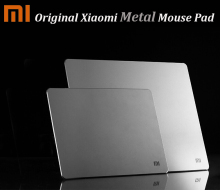 Original Xiaomi Metal Mouse Pad Mat Mousepad 24*30cm /18*24cm , Luxury Simple Slim Aluminum Computer Mouse Pads Frosted Matte(China)