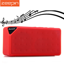 Zeepin X3 Bluetooth Speaker Portable Mini Wireless Loudspeaker Hi-Fi Subwoofer with FM Radio USB Input Hands-free Calling