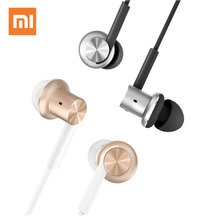XIAOMI Mi Hybrid In-Ear Stereo Earphones Earpods Earbuds With Mic Earphone Silver Gold For Android iOS For MP3 PC Ear Phones(China)