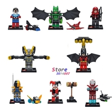 8star wars SUPER HERO Harley Quinn Batman Yellow Jacket building blocks action figure bricks friends kids children toys - Aliex Building Blocks Toys store