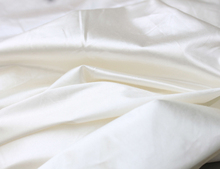 Cotton silk sateen down proof lining fabric 160 cm  width duvet cover fabric