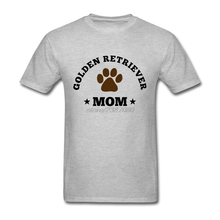 Short Sleeve Tshirs Crew Neck Teenage Golden Retriever Mom T Shirts Online Shopping Golden Retriever Wholesale Mens Cool Tees