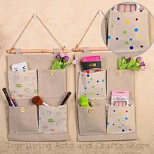 Ecofriendly Fashion Burlap Office Organizer Diy Desks Stationery Items Office Supplies Desk
