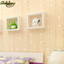 beibehang Stripe Wall paper Roll covering Kids Child Wallpaper for Living room Bedroom Home Decoration papel de parede para 3D