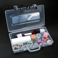 24 Colors Powder Temporary Shimmer Glitter Tattoo Kit For Body Art Design China