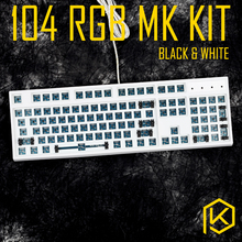 Custom Mechanical rgb Keyboard Kit 104 108 keys kinds of led effects PCB 100% keycool Gaming Keyboard RGB LED BacklightAvailable(China)