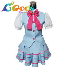 CGCOS Free Shipping Cosplay Costume Smile Pretty Cure Suite PreCure Summer School Uniform New in Stock Halloween Christmas Party