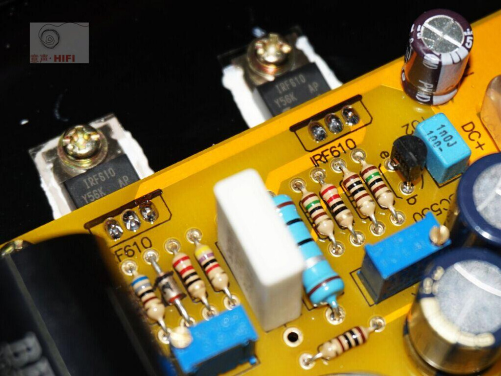 Single-ended Class A headphone amplifier Ref Pass Zen Push 32-300 ohm headset / 3W Class A amplifier