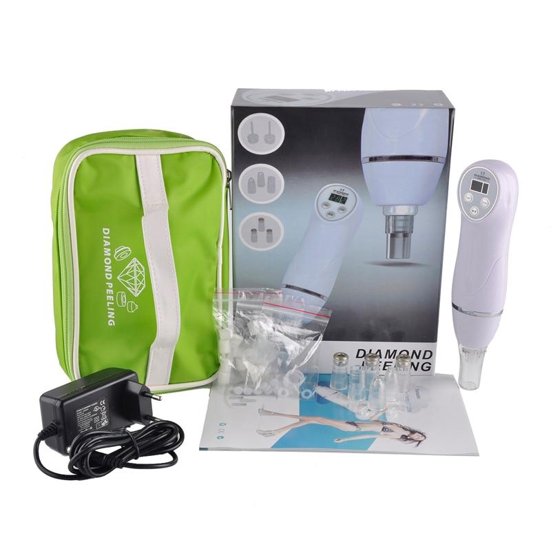 100V-240V Microdermabrasion Machine Blackhead Removal Skin Peel Diamond Dermabrasion Facial Massage <br>