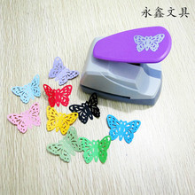 Creative Hollow Butterfly DIY Paper Punch for Card Scrapbooking Embossing flower Border embossing machine School Supplies(China)
