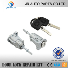 Golf Iv Vw Mk4 Golf Complete Door Lock Set + 2 Keys Front Right Side Factory New Produtions(China)