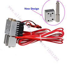 Special! Chimera Extruder with Integrated Feeding Tube - Multi-extrusion Dual Head Extruder HotEnd, 0.4mm Nozzle, 1.75mm
