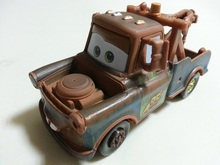 Pixar Cars Race Team Mater Toy Car Diecast 1:55 Loose Brand New In Stock & Free Shipping