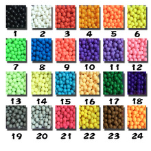 24 Colors Water Spray Magic Beads DIY Kit Ball Puzzle Game Fun DIY handmaking 3D puzzle Educational Toys For Children(China)