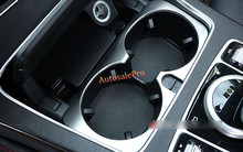 Console Interior Centre Water cup holder decoration trim cover For Mercedes  Benz C Class W205 2014-2015 a5c35271d33e