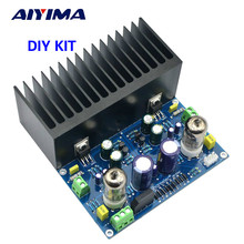 Buy Aiyima Tube Amplifier Board Amplificador Fever 6J1+LM1875 Vacuum Tube 2.0 Stereo Audio Amplifier Board Diy Kit 25W*2 for $23.49 in AliExpress store