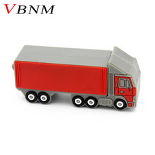 VBNM trailer pendrive flash drive 4g 8g16g 32g usb flash Big truck model flash card USB2.0 usb stick personalized gift(China)