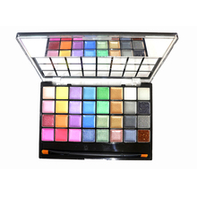 ULECHQING highly pigmented long-lasting soft smooth 32 Colors EyeShadow cream makeup Set shimmer smoky multifunction Eyeshadow