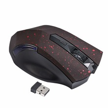 2.4GHz 2000DPI Wireless Gaming Mouse 6 Buttons USB Mini Portable Optical Computer Game Mouse WIFI Wireless Mouse For Laptop PC