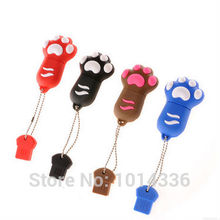 Cat paw/pad USB Flash Drive Memory Card Stick Thumb/Car key/usb flash drive/creative Gift 2GB 4GB 8GB 16GB 32GB