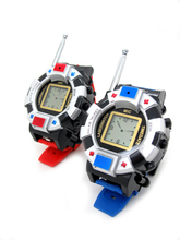 2PCS X WALKIE TALKIE WRISTLINX WRIST WATCH GADGET KIDS TOY WALKY TALKY 007 TWO WAY RADIO CHILD CHILDREN FUN NOVELTY PRETEND PLAY(China)