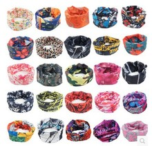 Outdoor Sports Cycling Bicycle Riding Variety Turban Magic Headband Veil Scarf Face Bandanas Drop shippinng via DHL Fedex 100pcs
