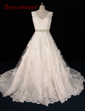 Real picture High Quality brand Wedding Dresses 2017 vestido De Noiva Bridal Gown factory custom made(China)