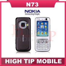 Refurbished N73 Original Nokia N73 GSM 3G FM MP3 Bluetooth 3.15MP Unlocked Mobile Phone Free Shipping One In Stock!!!(China)