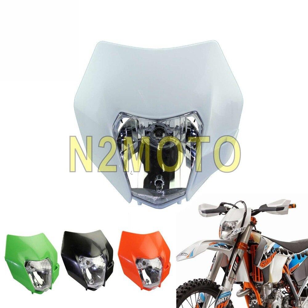 NEW Acerbis MX KTM EXC//EXCF 14-16 White Enduro Dirt Bike Headlight Surround