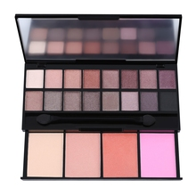 20 Colors Makeup Eye Shadow Applicator Shade Light Contour Eyeshadow Palette Shimmer Metallic Beauty Make Up Palette Waterproof