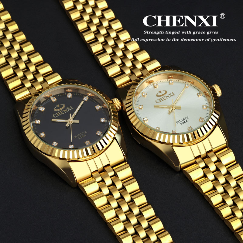 Luxury Golden Watch Men Fashion Stainless Steel Quartz watches Business Dress Hour relogio masculino <br><br>Aliexpress
