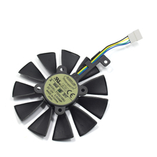Buy Everflow 87MM T129215SU 4Pin Cooling Fan ASUS GTX980Ti R9 390X 390 GTX 1060 1080 1070 RX 480 470 Graphics Card Cooler Fans for $20.49 in AliExpress store