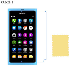 cunzhi 5pcs High Clear LCD Screen Protector For Nokia N9 Protection Ultra Slim Film