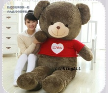 40cm Cute Plush toy bear toy high quality teddy bear doll for Children/babys red love teddy toys
